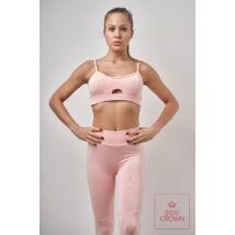Sissi Crown Pink Leggings szett